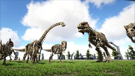 骷髅恐龙围攻骷髅南巨,能赢吗