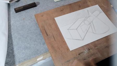 简单几何体素描练习