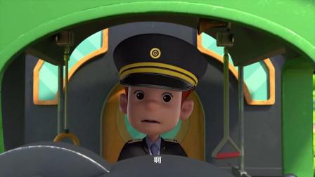 百变布鲁可:火车走错路了,这是什么情况,火车司机吓坏了