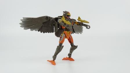 九九从戎视频544变形金刚 决战赛博坦 王国系列 加强级 飞箭勇士
