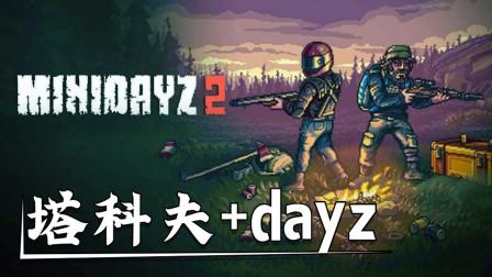 迷你dayz终于出续作了!逃离塔科夫+dayz的玩法,会好玩吗?