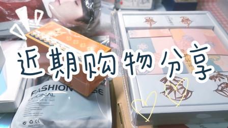 【小卡No.189】开箱 近期购物分享 手帐周边 生活
