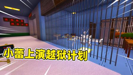 迷你世界:小蕾一觉醒来在监狱,要找到隐蔽出口,才能成功逃离!