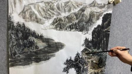 绘画和照相机的区别,伟大中国传统山水画的魅力!写意不写实。