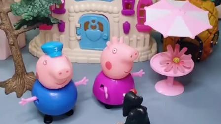 小猪佩奇乔治来猪奶奶家,不料发现僵尸,叫豌豆射手帮忙