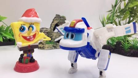 帮帮龙出动我的恐龙邻居玩具开箱,直升机科里翼龙变形玩具