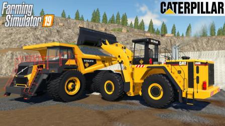 最新挖掘机工程车表演,完美完成任务
