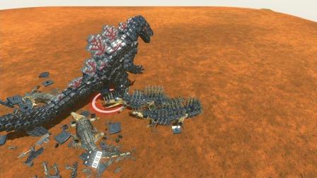 动物战争:利爪龙大战尖刺鳄鱼,最后的胜利归谁呢
