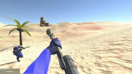 战地模拟器:遁地术的小蓝人还可行,消灭敌军的据点