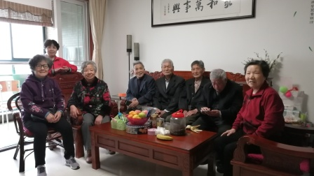 2021.4.4.李爱花夫妇邀请5935班兰溪同学聚会