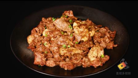 肉食爱好者的家常菜品:鸡蛋炒木须肉片