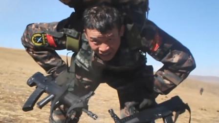 流血流汗不流泪,掉皮掉肉不掉队!80秒直击西藏武警硬核魔鬼训练