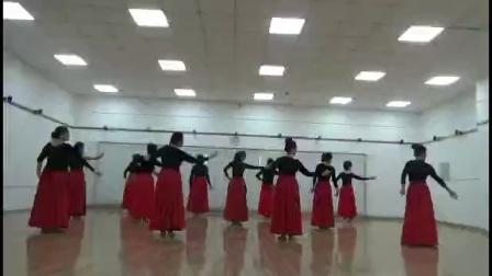 舞蹈:可可托海的牧羊人,习舞:高二舞蹈队