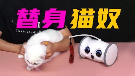 智能替身猫奴机器人?这下去电子厂打工不用担心宠物没人陪了