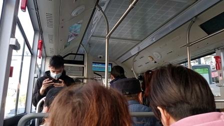 上海公交车60路内江路周家嘴路-内江路长阳路