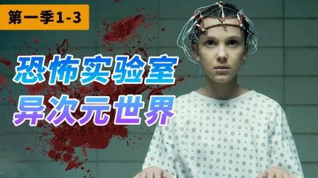 【上】Netflix 高分悬疑美剧《怪奇物语》第一季1-3