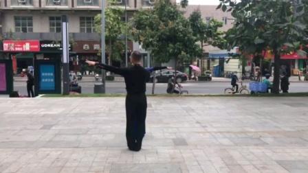 社交伦巴《今天是你的生日》背面音乐演示,王雄老师与邬彩凤老师