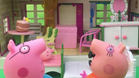 猪爸爸猪妈妈叫孩子起床,这个差别太大了!