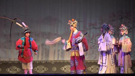秦腔《赵氏孤儿》,剧团美女演唱嗓音圆润甜美,观众过足了戏瘾