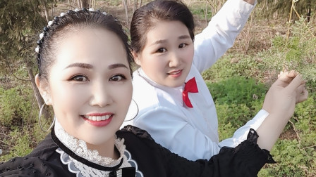 好心情蓝蓝广场舞原【228】创双人舞快四【九妹】附教学
