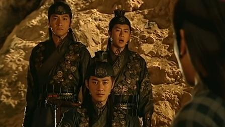 少年四大名捕:捕快来找兄弟,不料中他人埋伏,关键时刻圣旨出现