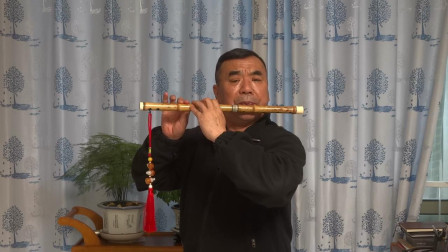 《天路》张永纯笛子独奏,f5演奏,袁再彪先生制笛。