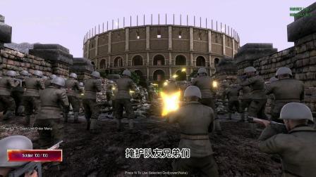 史诗战争:最后的丧尸王国出现了,二战士兵们阻止他们