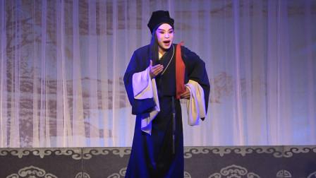 剧团台柱子秦腔《夜逃》,小生角色演唱有声有色,经典中的精品