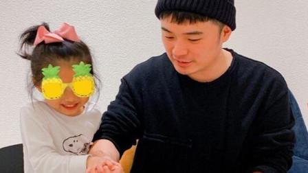 陈赫晒出女儿正面照片,颜值曝光后被网友被吐槽,和爸爸也太像