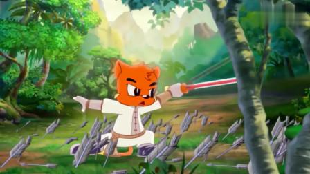 虹猫蓝兔:大奔赔了夫人又折兵,自觉对不起七剑,决心离开虹猫
