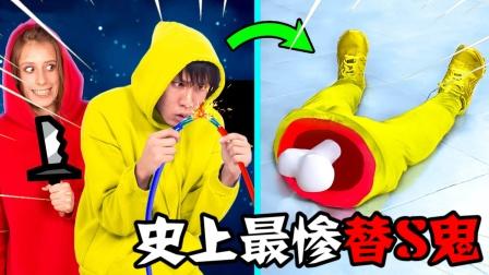 Among Us:憨憨红大爷成为最惨替S鬼,都是贪玩惹的祸!