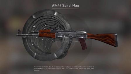 CSGO自定义武器旋风AKKKKKKKK