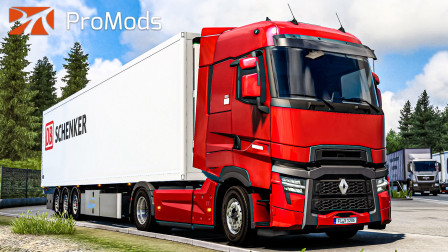 欧洲卡车模拟2 #407:萨尔茨堡连续机外 试玩雷诺T-Evolution | Euro Truck Simulator 2