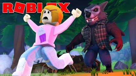 ROBLOX狼人杀:遭遇变异狼人躲在房间瑟瑟发抖!面面解说