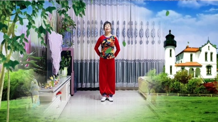 彬县广场舞《最亲的人》