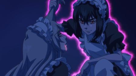胆小阎王为保护转世童子,不仅穿女仆装,还被恶鬼附身!搞笑动漫