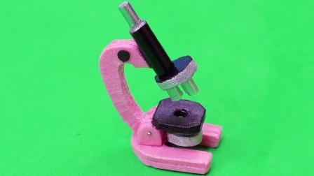 DIY手工:制作迷你显微镜