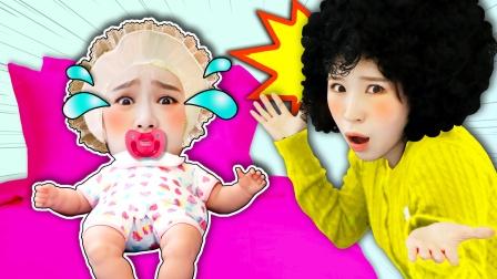 如果基尼是小宝宝的话?妈妈贴心照顾基尼宝宝的儿童剧