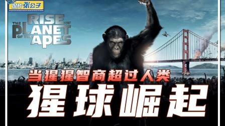 《猩球崛起》当猩猩们大脑开发到20%,人类根本控制不住他们!