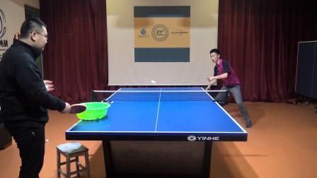 乒乓球盯球,如何通过训练来练习盯旋转?