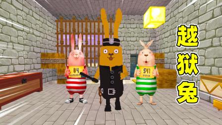 迷你世界:小蕾被兔子守卫关在牢房,要找到20个星星,才能逃出去