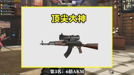 什么武器最能体现实力?6倍AKM上榜