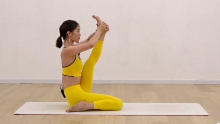 瑜伽入门体式详解——鸳鸯式