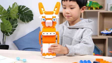 和布鲁可积木玩具一起打造童话世界