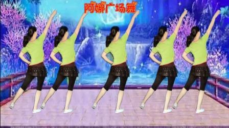 阿娜广场舞-没想那么多-背面