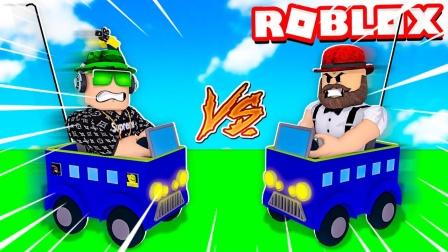 Roblox卡通大乱斗:小丑大战爬行怪物!居然可以放狗咬人?