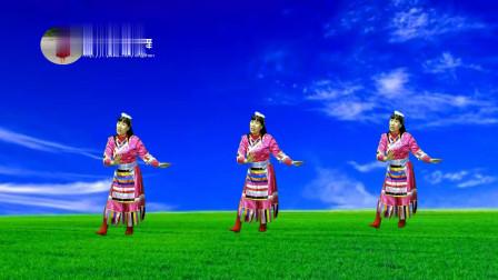 梦娟广场舞 藏族舞《雪山阿佳》