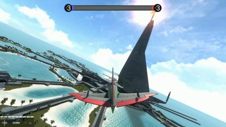 战地模拟器:来到了地图的最高处,这个位置能打到我觉对是高手
