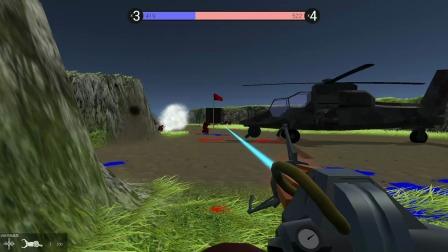 战地模拟器:偶遇敌军王牌飞行员,但还是被我击败了