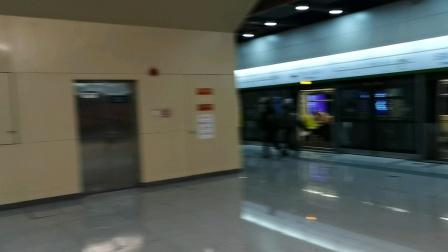 【2020.12.31】北京地铁16号线307—甘家口方向337—北安河方向国家图书馆出站这一天是在16号线延长开通的第一天拍摄的
